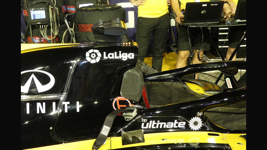 Renault - F1-Technik - Lüfter - GP Singapur 2018