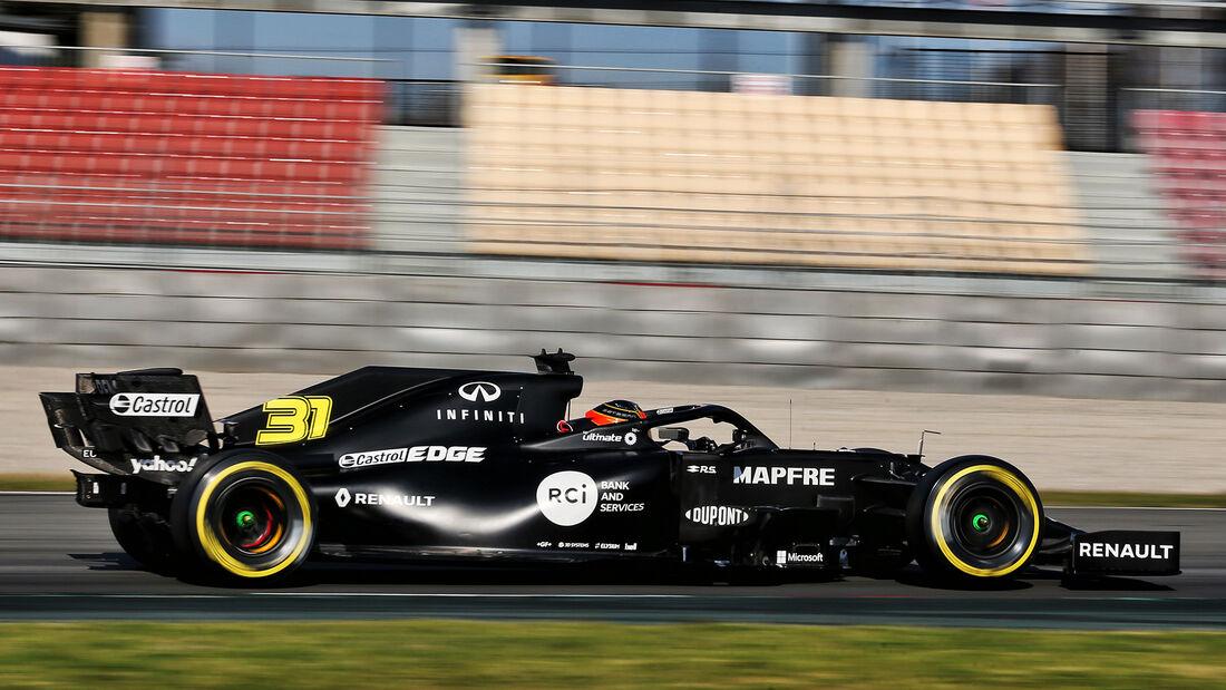 Renault - F1-Test - Barcelona - 2020
