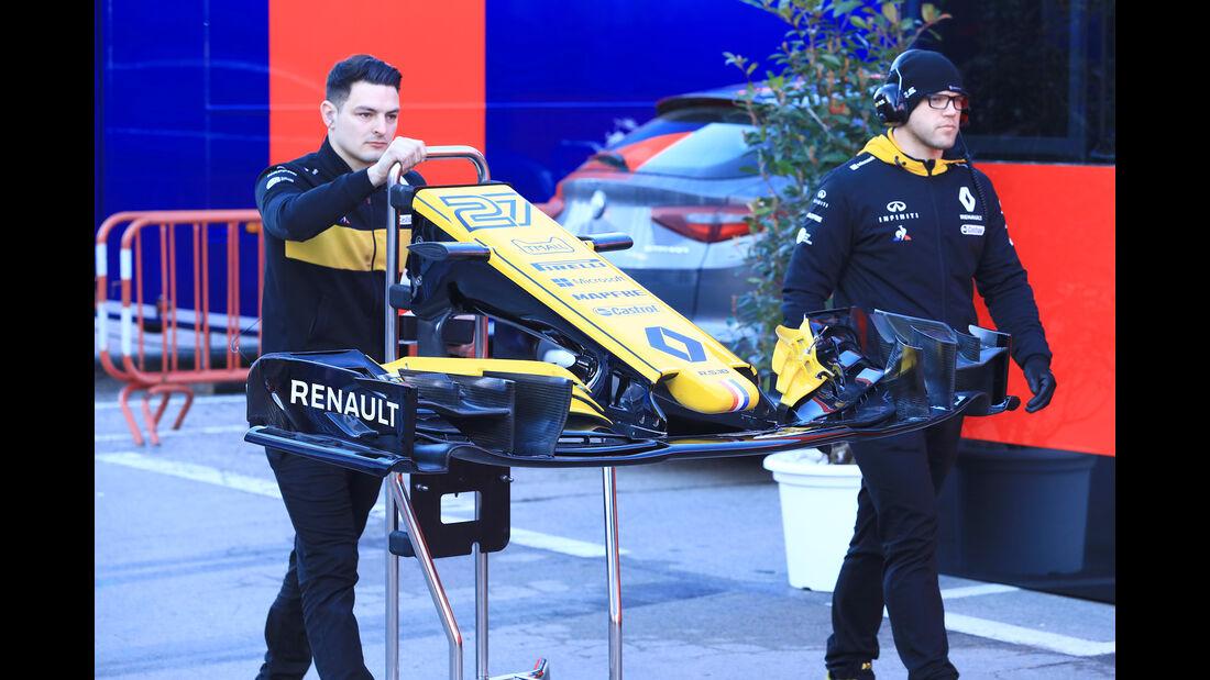 Renault - F1-Test - Barcelona - Tag 5 - 6. März 2018
