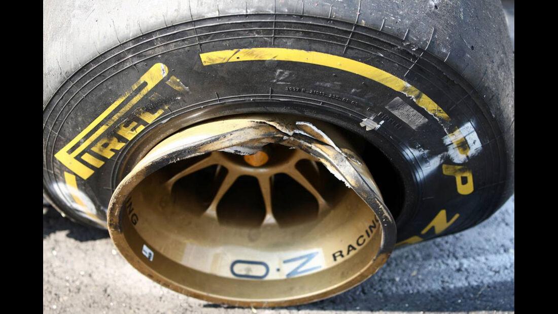 Renault-Felge GP Italien Monza 2011
