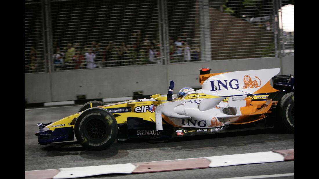 Renault - Fernando Alonso - GP Singapur - 2008 - F1