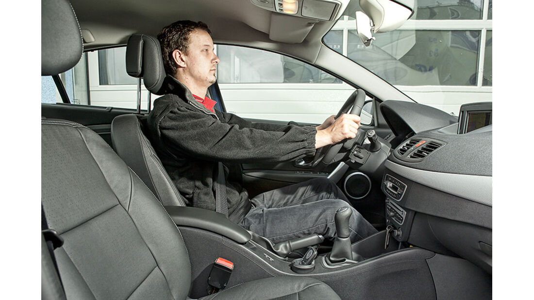 Renault Fluence Fahrersitz