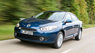 Renault Fluence Front