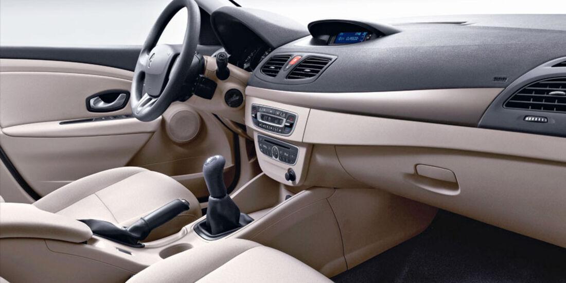 Renault Fluence, Innenraum, Cockpit