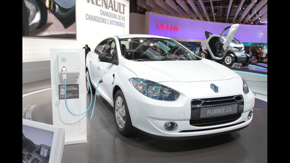 Renault Fluence Paris 2010