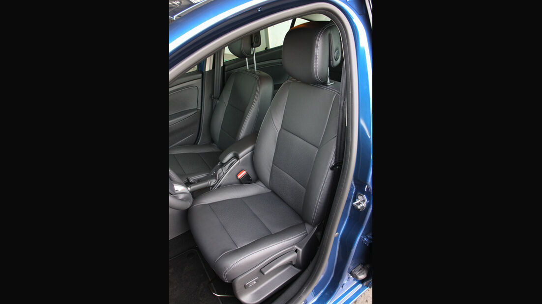 Renault Fluence, Sitze