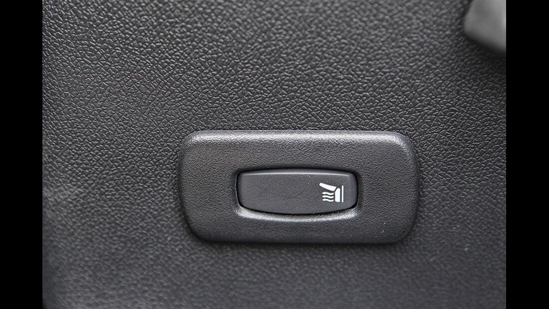 Renault Fluence Sitzheizung