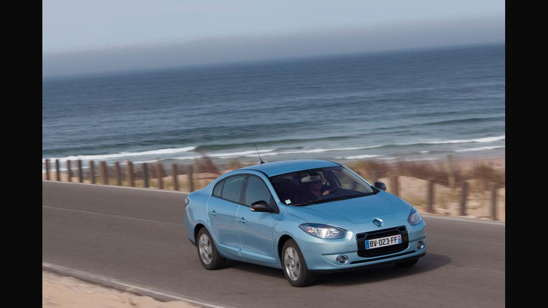 Renault Fluence Z.E. Frontansicht