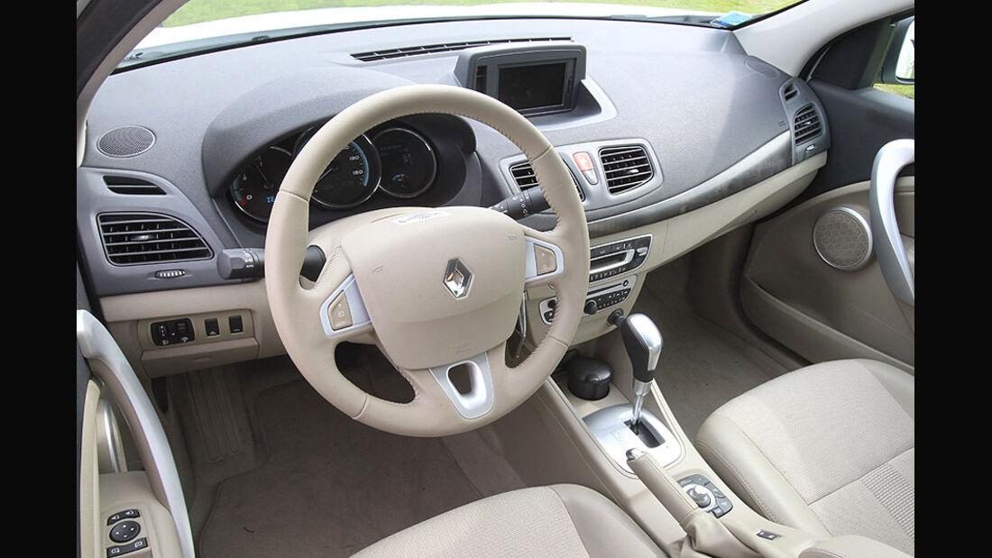Renault Fluence Z.E Lenkrad