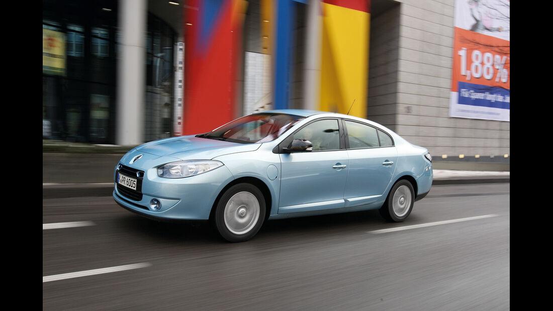 Renault Fluence Z.E., Seitenansicht