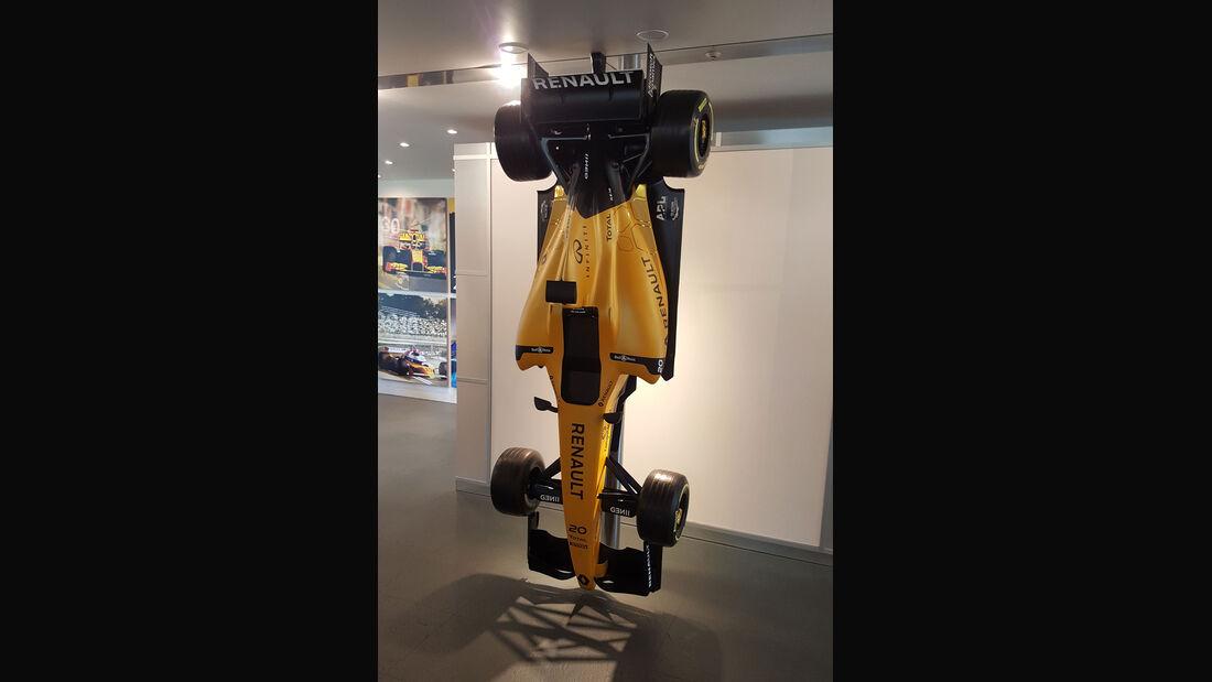 Renault - Formel 1 - Enstone - Werk