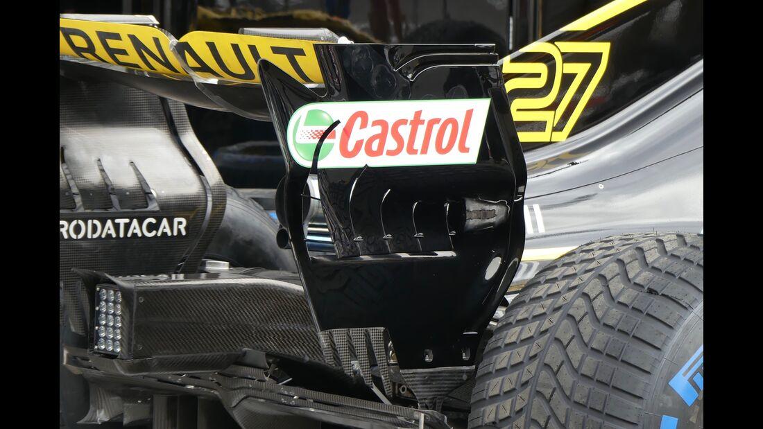 Renault - Formel 1 - GP Aserbaidschan - 28. April 2018