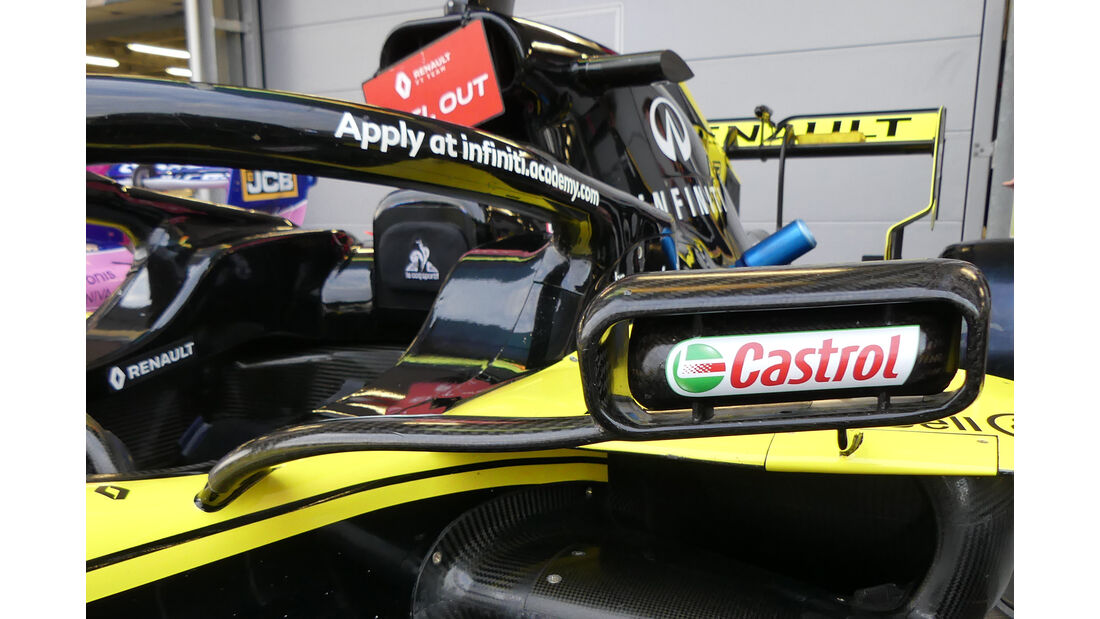 Renault - Formel 1 - GP Aserbaidschan - Baku - 25. April 2019