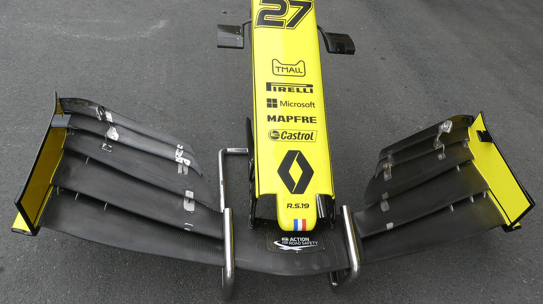 Renault - Formel 1 - GP Aserbaidschan - Baku - 25. April 2019
