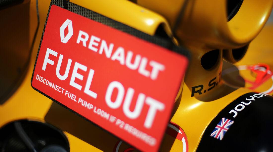 Renault - Formel 1 - GP Bahrain - 2. April 2016