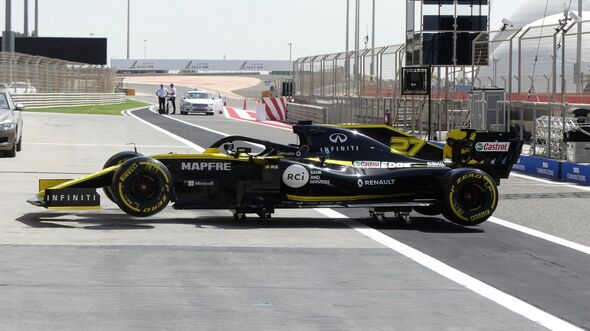 Renault - Formel 1 - GP Bahrain - 28. März 2019