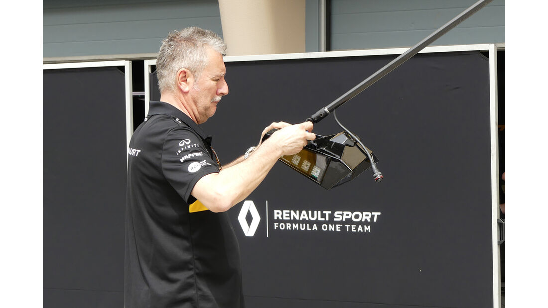 Renault - Formel 1 - GP  Bahrain - 4. April 2018
