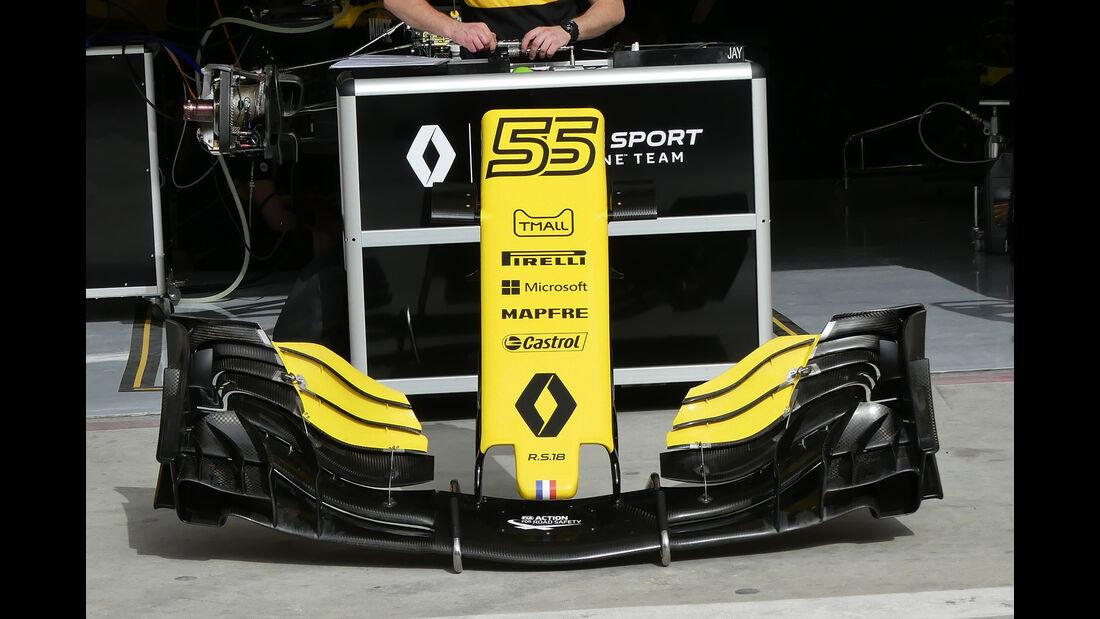 Renault - Formel 1 - GP Bahrain - 5. April 2018