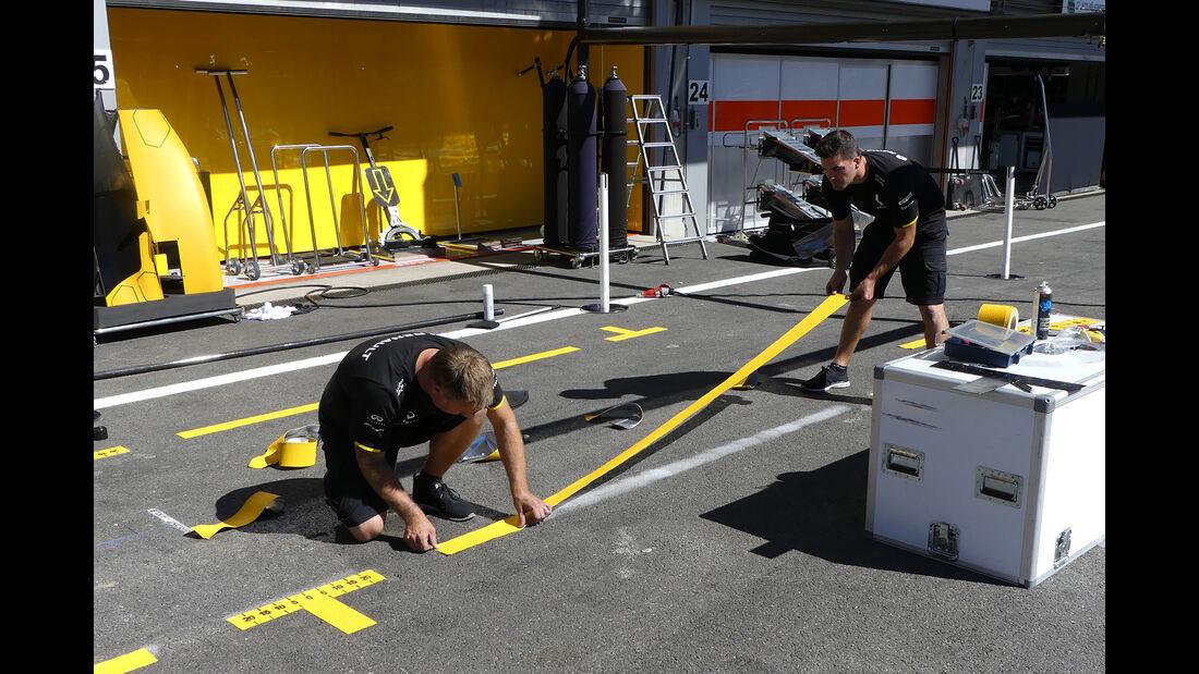 Renault - Formel 1 - GP Belgien - 24. August 2016