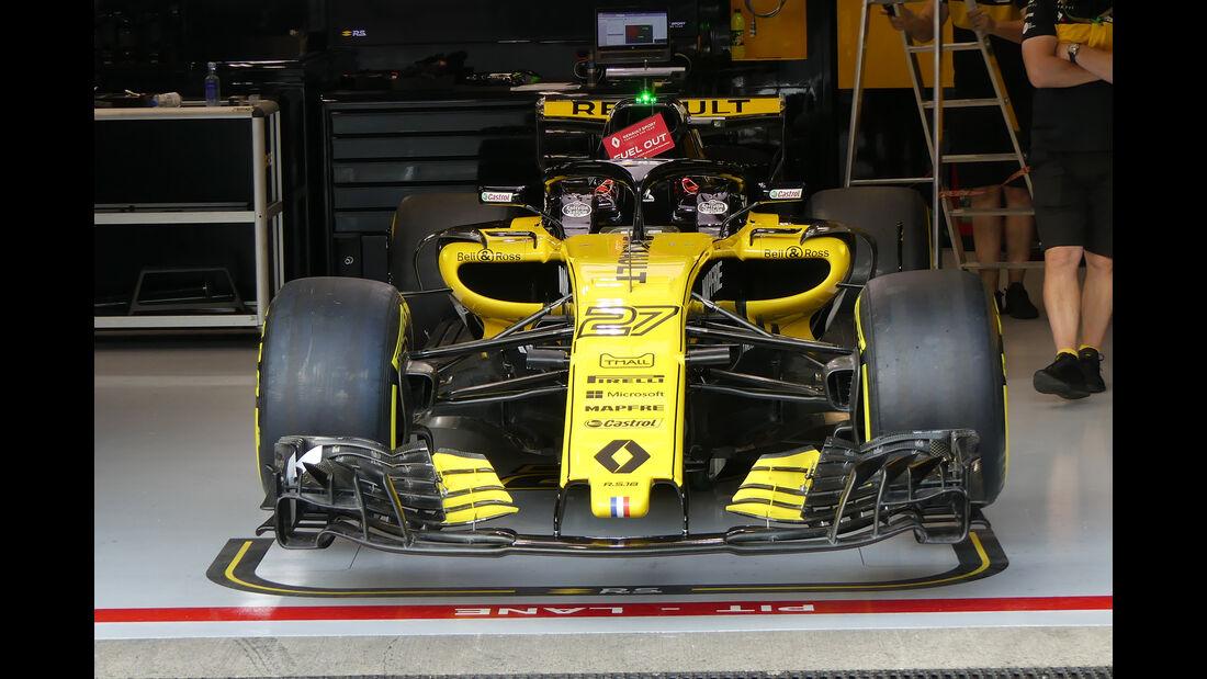 Renault - Formel 1 - GP Belgien - Spa-Francorchamps - 23. August 2018