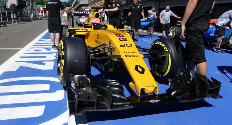Renault - Formel 1 - GP Belgien - Spa-Francorchamps - 25. August 2016