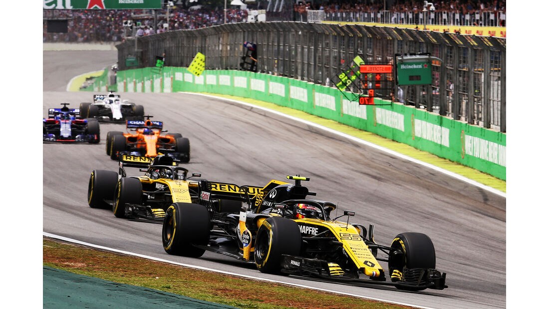 Renault - Formel 1 - GP Brasilien 2018