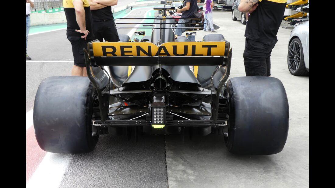 Renault - Formel 1 - GP Brasilien - 9. November 2017
