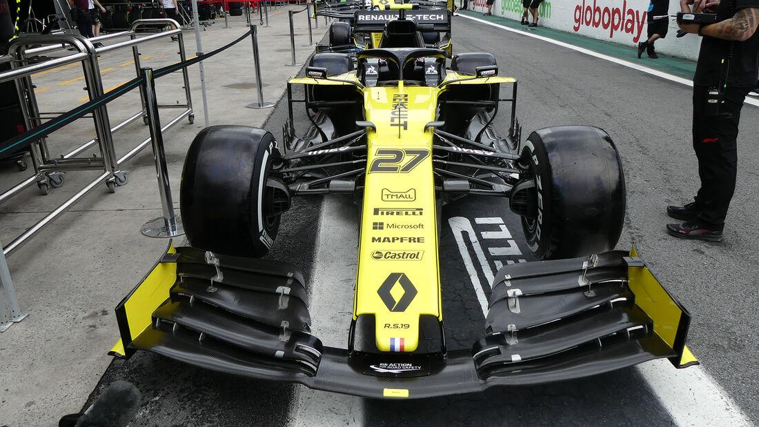 Renault - Formel 1 - GP Brasilien - Sao Paulo - 14. November 2019