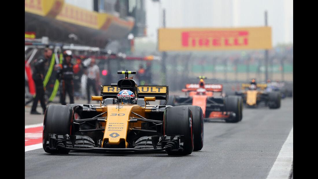 Renault - Formel 1 - GP China 2017