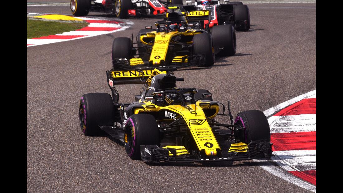 Renault - Formel 1 - GP China 2018