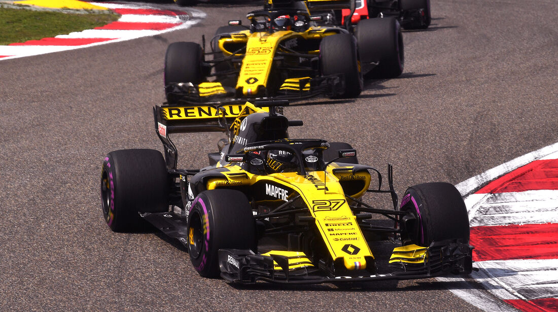 Renault - Formel 1 - GP China 2018