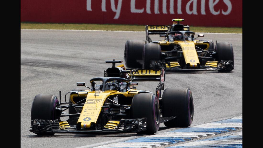Renault - Formel 1 -GP Deutschland 2018