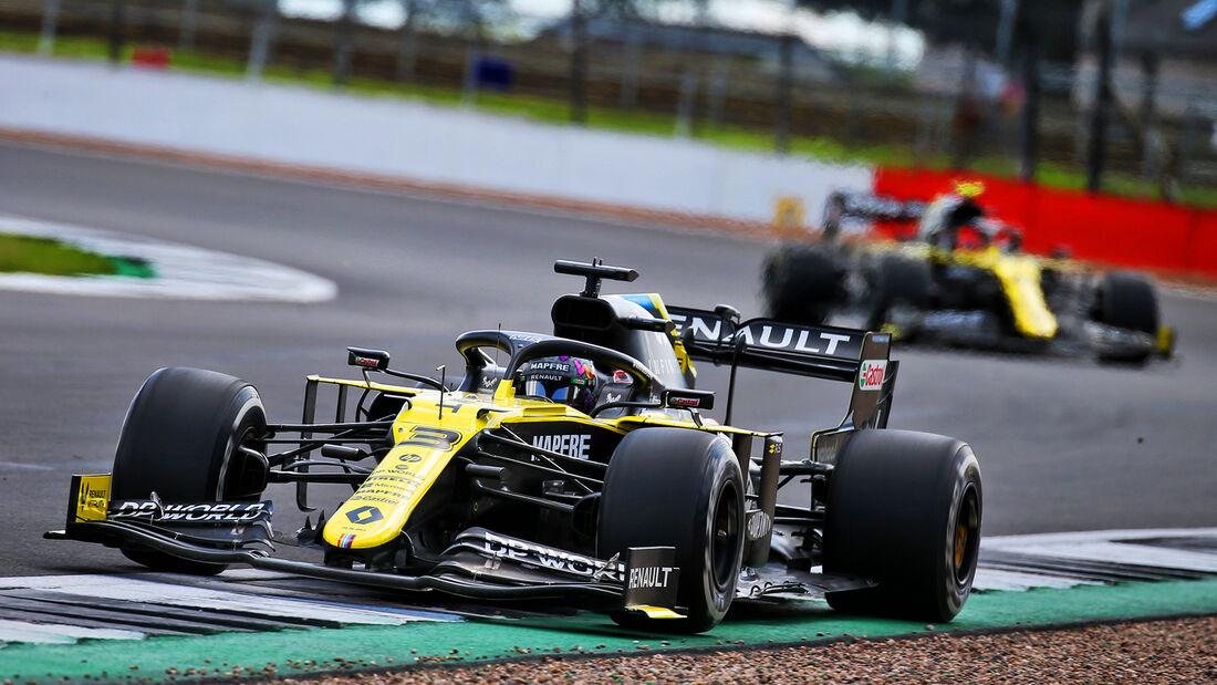 Renault - Formel 1 - GP England 2020