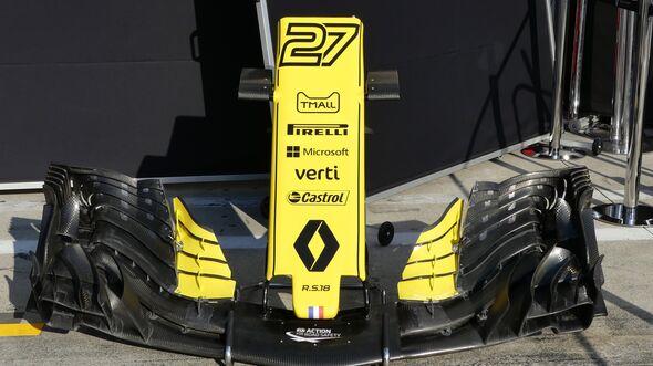 Renault - Formel 1 - GP Italien - 29. August 2018
