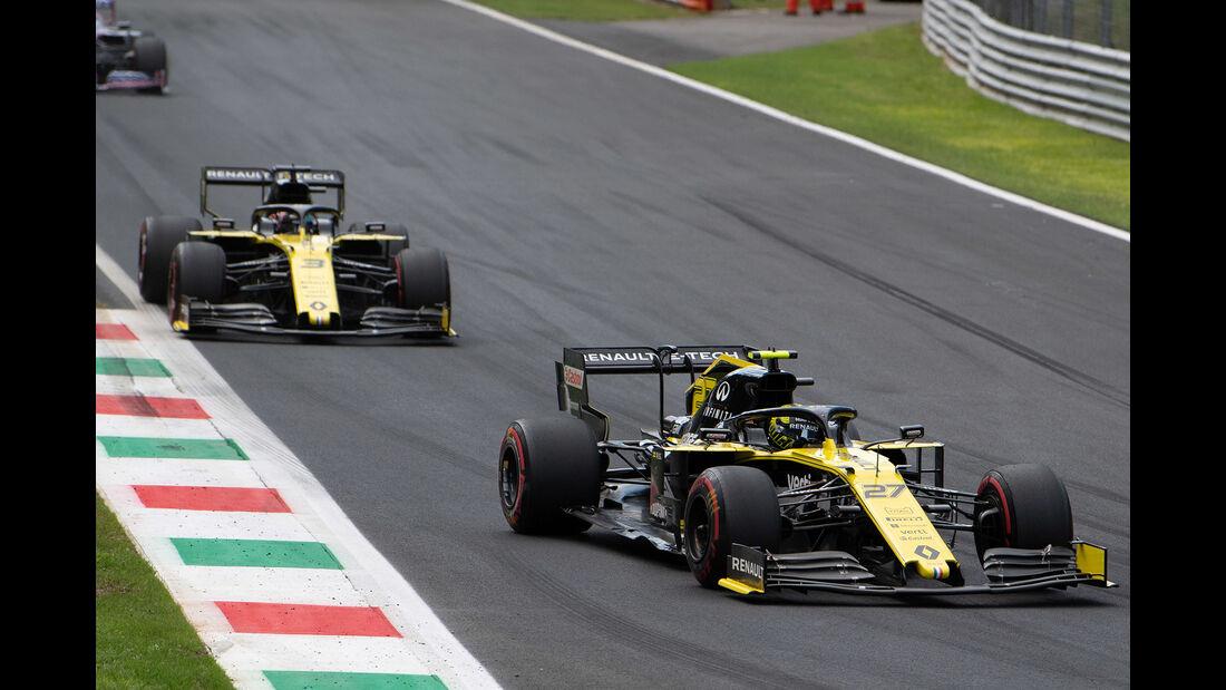 Renault - Formel 1 - GP Italien - Monza - 2019
