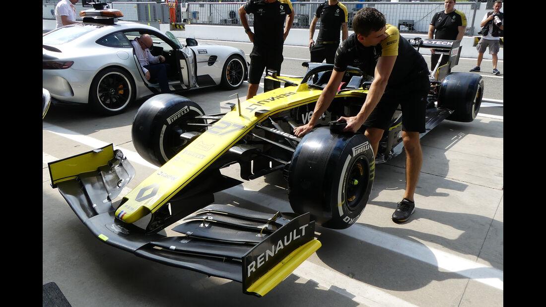 Renault - Formel 1 - GP Italien - Monza - 5. September 2019