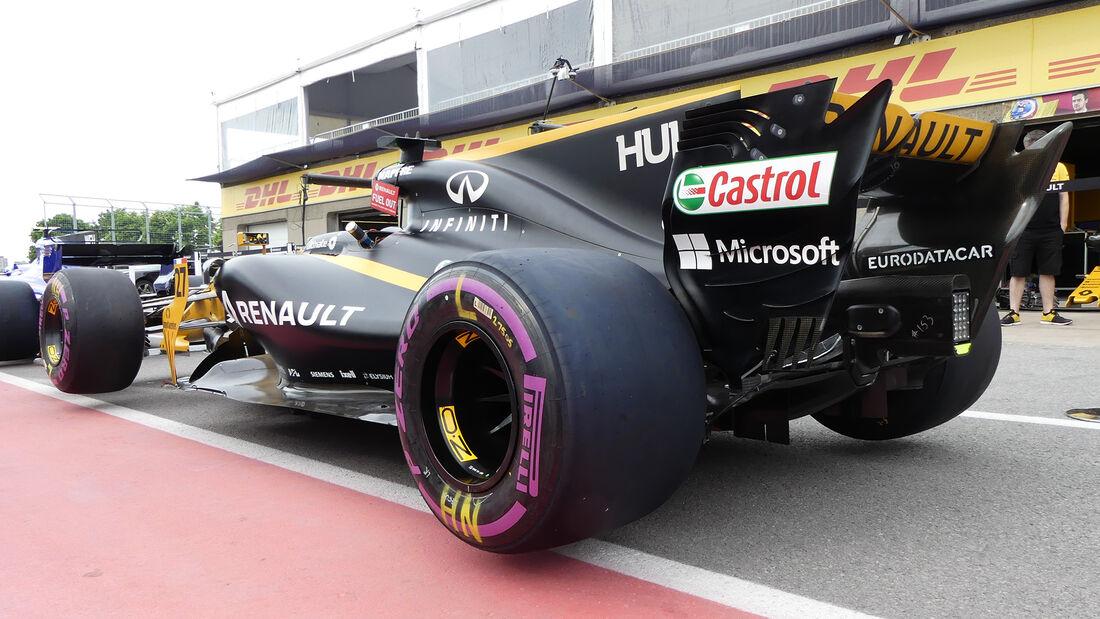 Renault - Formel 1 - GP Kanada - Montreal - 8. Juni 2017