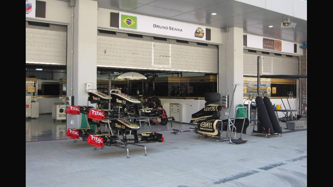 Renault - Formel 1 - GP Korea - 13. Oktober 2011