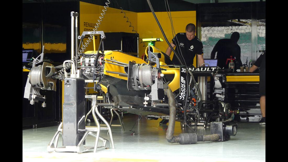 Renault - Formel 1 - GP Malaysia - Sepang - Donnerstag - 29.9.2016
