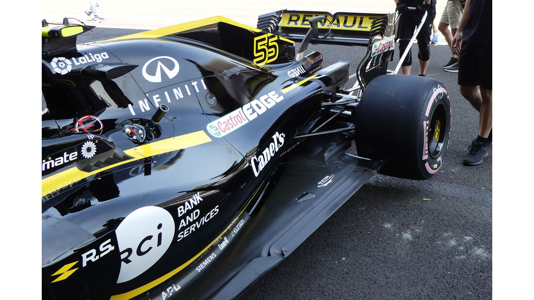 Renault - Formel 1 - GP Mexiko - 25. Oktober 2018