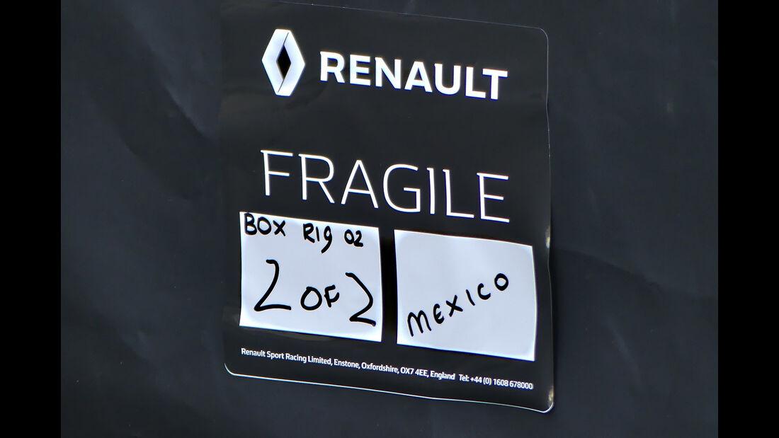 Renault - Formel 1 - GP Mexiko - 26. Oktober 2016