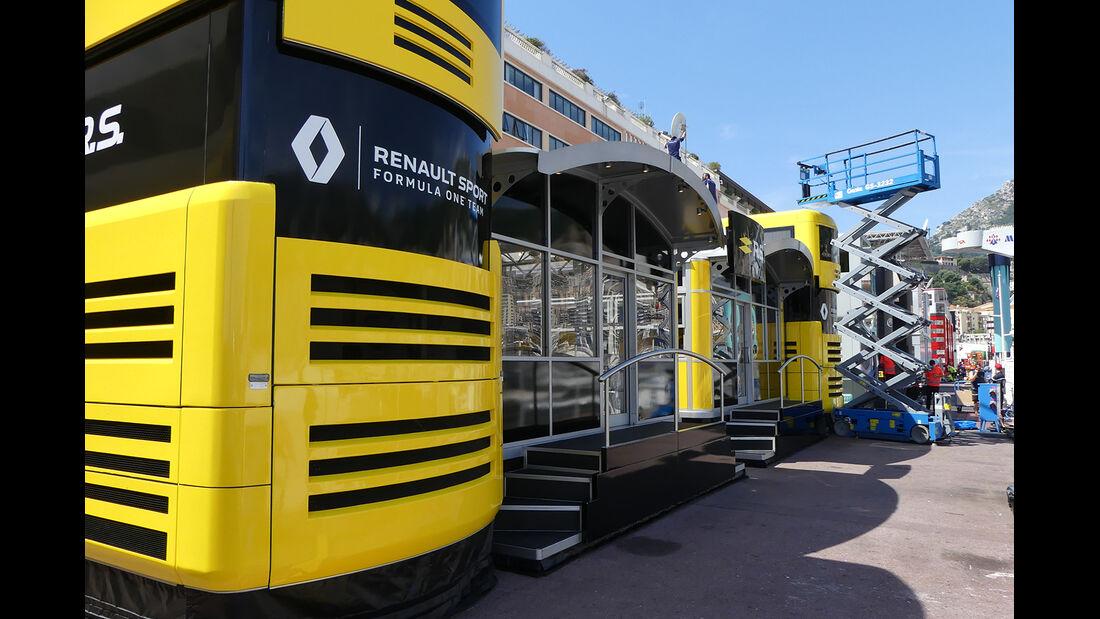 Renault - Formel 1 - GP Monaco - 23. Mai 2017