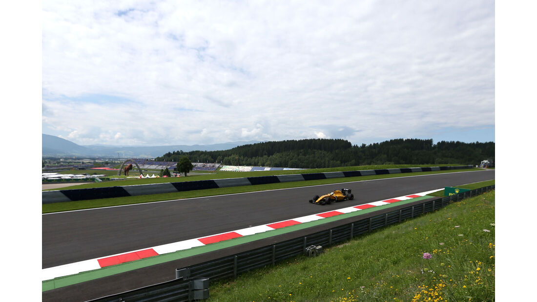 Renault - Formel 1 - GP Österreich - 1. Juli 2016