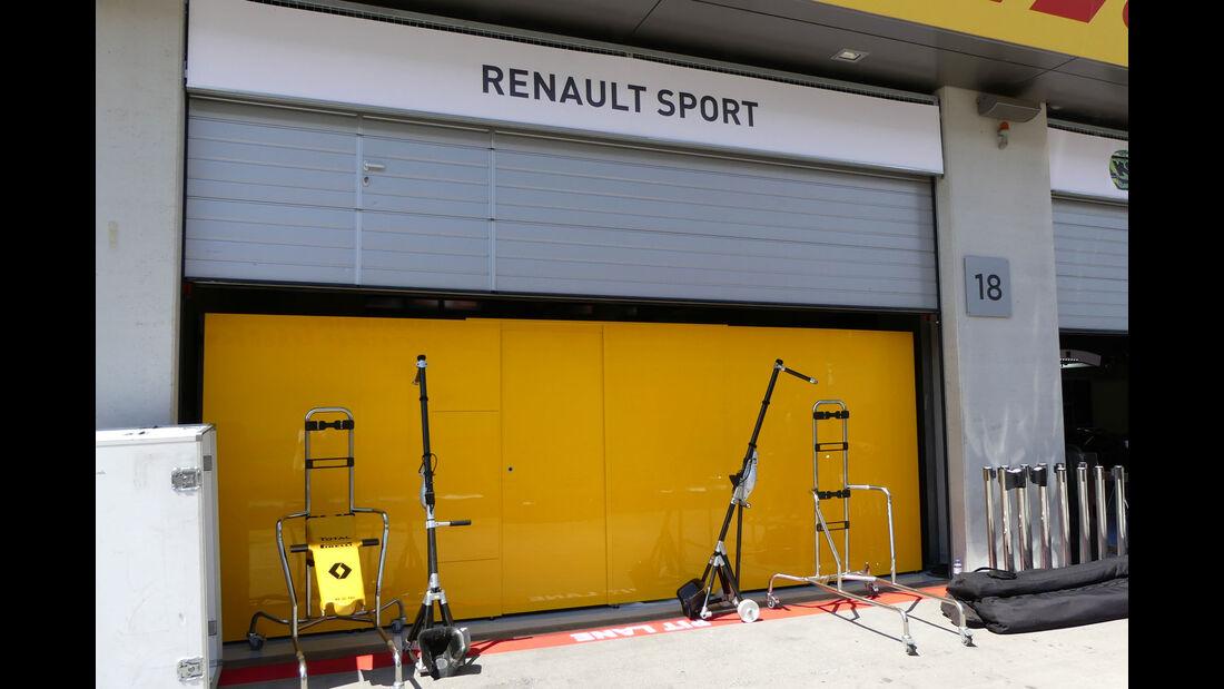Renault - Formel 1 - GP Österreich - 29. Juni 2016