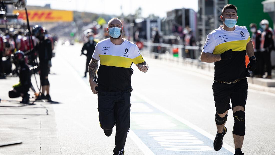 Renault - Formel 1 - GP Portugal - Portimao - 24. Oktober 2020