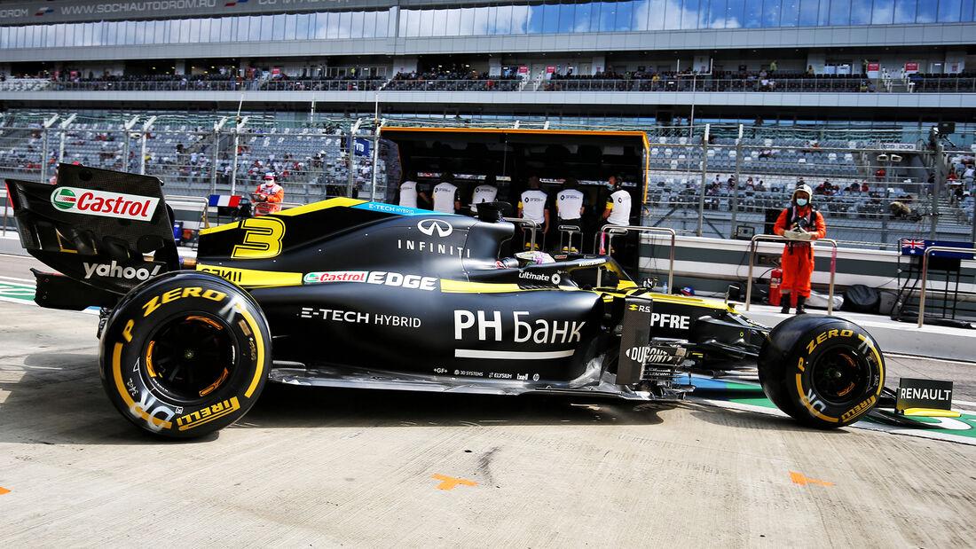 Renault - Formel 1 - GP Russland 2020