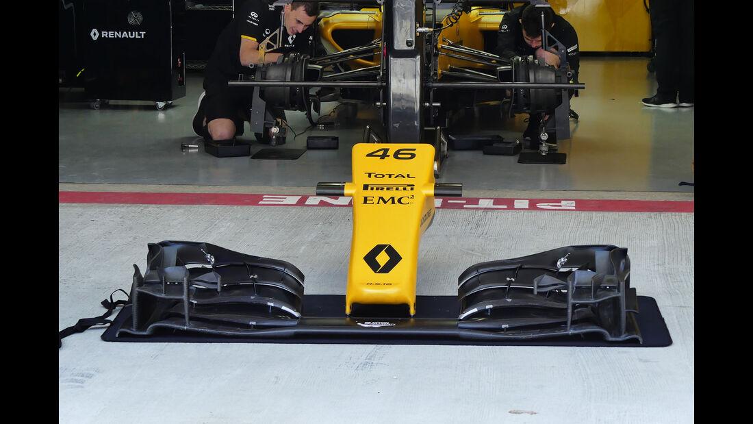 Renault - Formel 1 - GP Russland - 28. April 2016