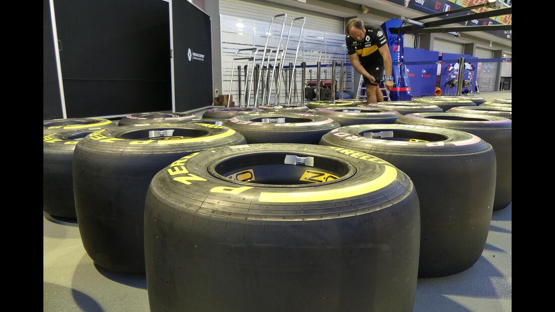 Renault - Formel 1 - GP Singapur - 12. September 2018