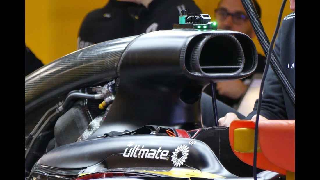 Renault - Formel 1 - GP Spanien - 11. Mai 2017