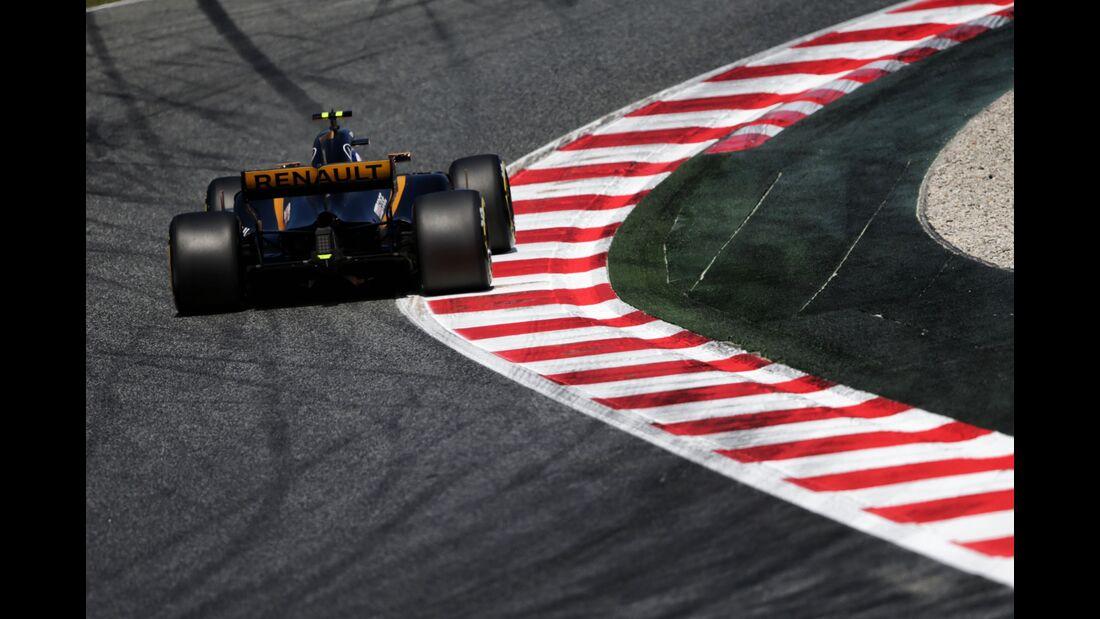 Renault - Formel 1 - GP Spanien - 13. Mai 2017